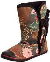 Sugar Shoes Women's Origami Asian Floral Mid Calf Boots Obafbl