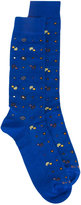Etro printed socks - men - Cotton/Polyamide/Spandex/Elastane - 1
