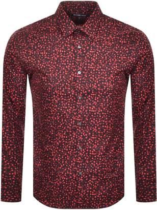 Michael Kors Long Sleeved Shirt Red