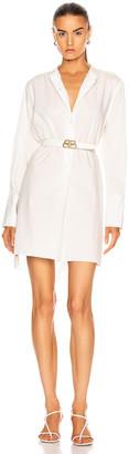 Nili Lotan Loria Tunic Shirt in White | FWRD