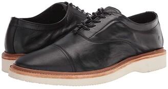 Frye Paul Weekend Bal Oxford (Black Soft Full Grain) Men's Slip on Shoes