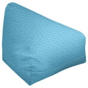 "Leffel Bean Bag Ebern Designs Size: 27"" H x 30"" W x 25"" D, Product Type: Bean Bag Cover, Fabric: Dark Purple"