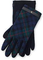Ralph Lauren Tartan Wool Tech Gloves