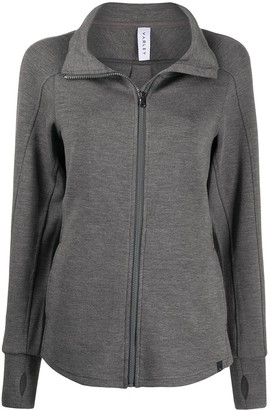 Varley Rossbury zip-through sweater