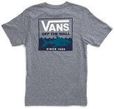 Vans Boys Shark Stripe Pocket T-Shirt