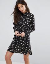 Fashion Union Floral Shirt Dress