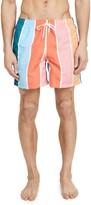 Bather Multi Gradient Swim Shorts