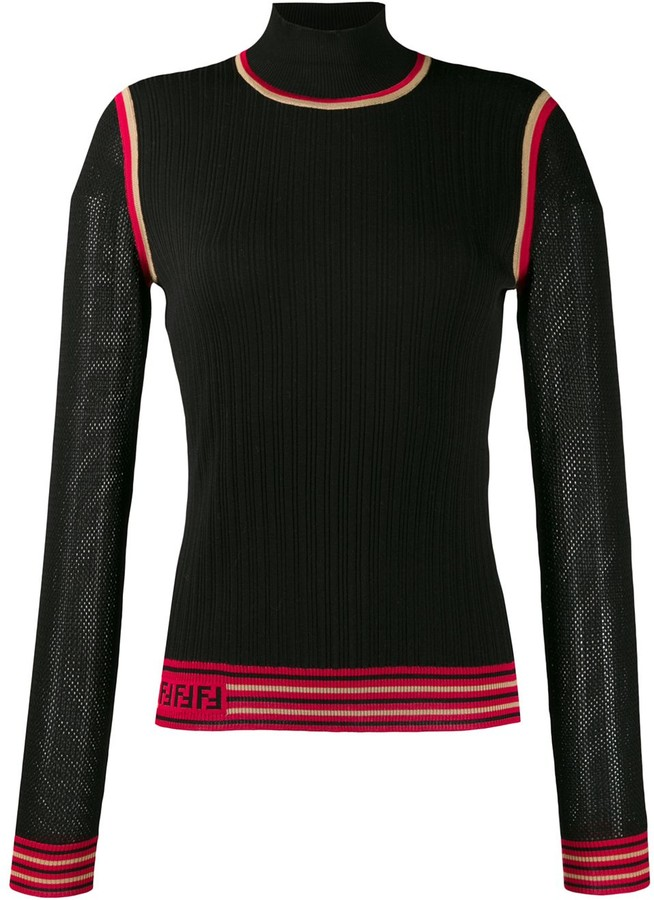 0501a280 knitted logo jumper