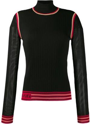 Fendi FF motif detail jumper
