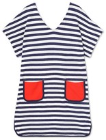Petit Bateau Womens beach dress in terrycloth bouclette