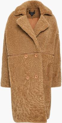 Muu Baa Muubaa Double-breasted Shearling Coat