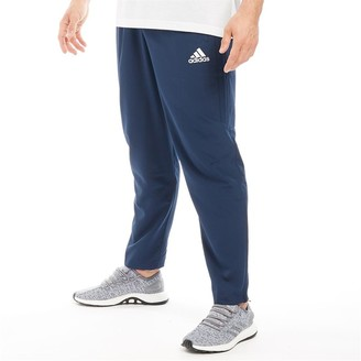 adidas Mens Tiro 17 Woven Track Pants Navy/White