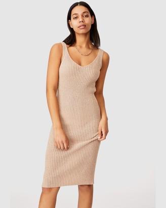 Cotton On Match Me Knit Midi Dress