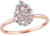 Diamond Select Cuts 14K Rose Gold 0.23 Ct. Tw. Diamond Ring
