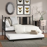 Laurèl Benita Daybed with Trundle Foundry Modern Farmhouse Size: Full
