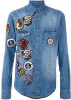 Philipp Plein 'Overloaded' denim shirt