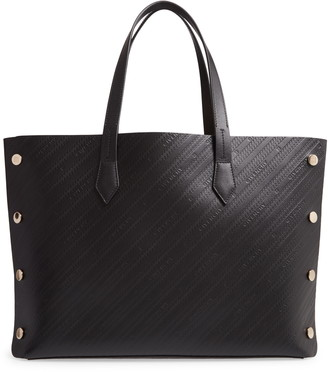 Givenchy Medium Bond Embossed Calfskin Leather Tote