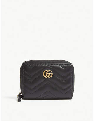 Gucci Marmont matelasse leather concertina purse