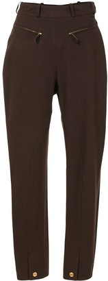 Hermes Pre-Owned Straight-Leg Trousers
