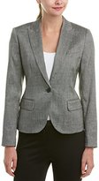 Anne Klein Women's Howard Hawks Peak Lapel Jacket