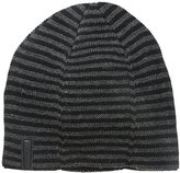 Calvin Klein Men's Lightweight Luxe Stripe Reversible Beanie