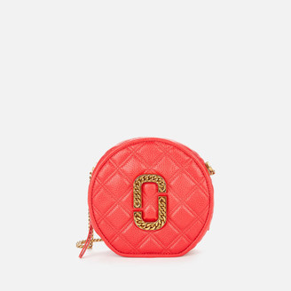 Marc Jacobs Women's Round Cross Body Bag - Red