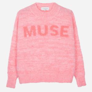Maison Anje - Lamuse Jumper in Fluo Pink - small/medium
