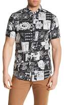 Billabong Short Sleeve Warhol Print Woven Shirt