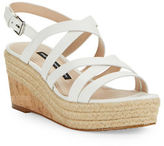 French Connection Liya Strappy Wedge Sandals