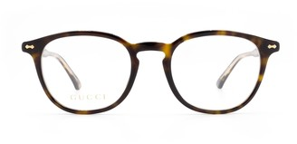Gucci Gg0187o Havana Glasses