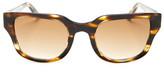 SICKY EYEWEAR Women&s Acetate Dark Chocolate Tortoise Sunglasses