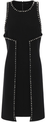 Proenza Schouler Studded Crepe Mini Dress