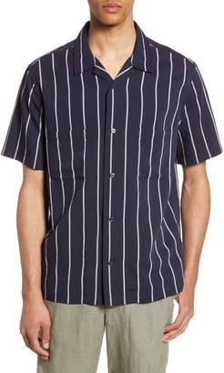 Vince Cabana Slim Fit Short Sleeve Shirt