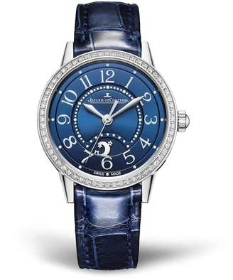 Jaeger-LeCoultre Jaeger Lecoultre Stainless Steel and Diamond Rendez-Vous Night & Day Watch 29mm