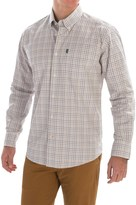 Barbour Charles Tattersall Shirt - Tailored Fit, Long Sleeve (For Men)