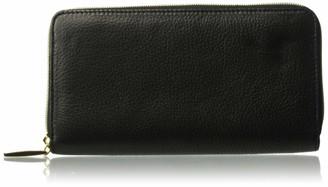 Buxton Women's Florence Ii RFID Slim Single Zip Wallet