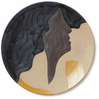 ferm LIVING Aya Platter/Wall Plate - 37 x 3 | ceramic | Glazed Stoneware