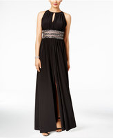 R & M Richards Petite Embellished Gown