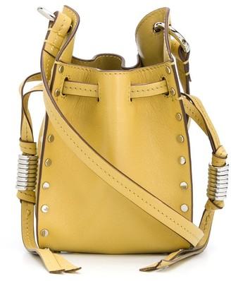 Isabel Marant Studded Drawstring Crossbody Bag