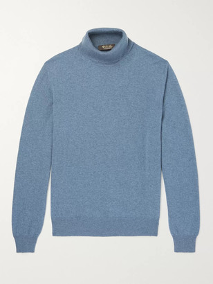 Loro Piana Slim-Fit Baby Cashmere Rollneck Sweater