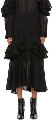 Totême Black Coja Skirt