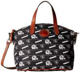 Dooney & Bourke NFL Nylon Small Gabriella Satchel Satchel Handbags