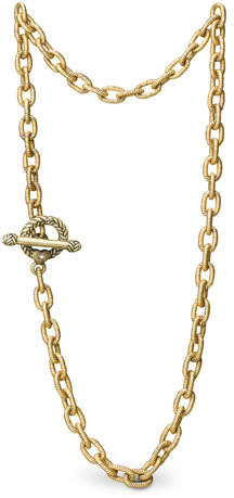 """Jay Strongwater Jeanne"""" Necklace, 18 1/2"""""""