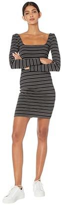 Billabong Same Song Dress (Black) Women's Clothing