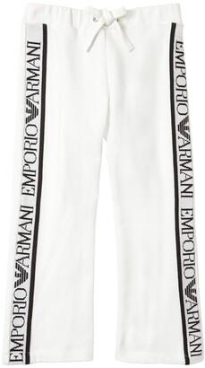 Emporio Armani Logo Jacquard Sweatpants