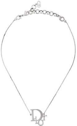 Christian Dior Pre-Owned logo pendant
