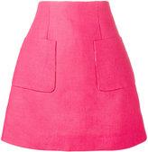 DELPOZO A-line Mini Skirt - women - Cotton/Linen/Flax - 36