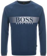 HUGO BOSS Logo Sweatshirt Blue