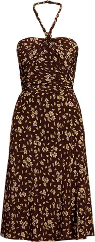Thumbnail for your product : Ralph Lauren Raygan Silk Crepe Floral Cocktail Dress