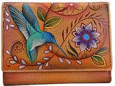 Anuschka Women's Small Flap French Wallet